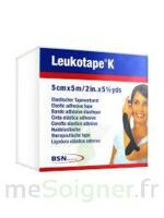 LEUKOTAPE K Sparadrap noir 5cmx5m à Agen