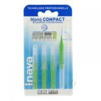 Inava Mono Compact Brossette Extra-large Vert Blister/4 à Agen