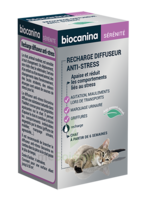 Biocanina Recharge Pour Diffuseur Anti-stress Chat 45ml à Agen
