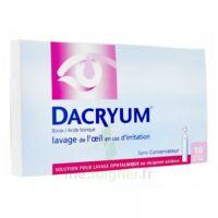 DACRYUM S p lav opht en récipient unidose 10Unid/5ml à Agen