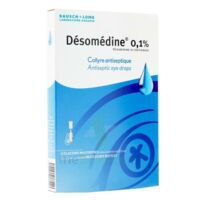 DESOMEDINE 0,1 % Collyre sol 10Fl/0,6ml à Agen