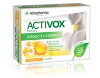 Activox Sans Sucre Pastilles Miel Citron B/24 à Agen