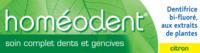 Boiron Homéodent Soin Complet Dents Et Gencives Pâte Dentifrice Citron 2t/75ml à Agen