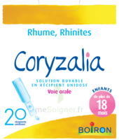 Boiron Coryzalia Solution Buvable Unidose B/20 à Agen