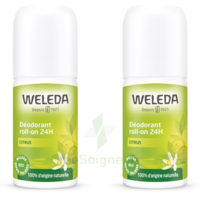 Weleda Duo Déodorant Roll-on 24H Citrus 100ml à Agen