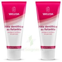 Weleda Duo Pâte Dentifrice Au Ratanhia 150ml à Agen