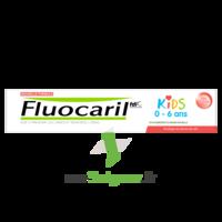 Fluocaril Kids Dentifrice Fraise 0-6 Ans T/50ml à Agen